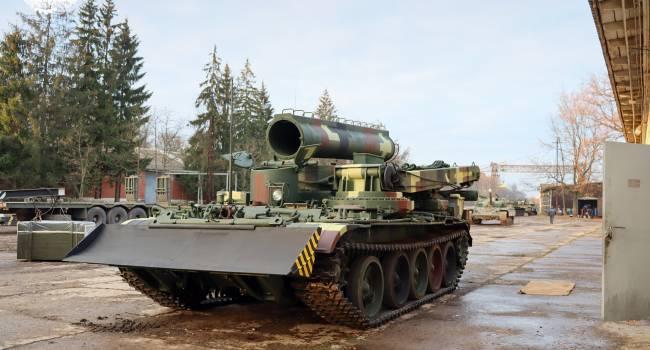 ВСУ получили на баланс отечественный БТС-4