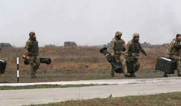 В Украине состоялись учения с использованием Javelin