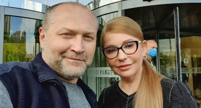 Береза: считаю Тимошенко Фениксом, который умеет возрождаться из пепла поражений. А еще я считаю её политиком, у которого есть яйца