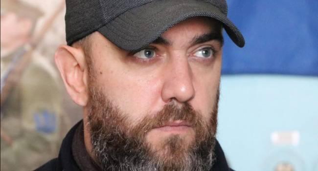 Ветеран АТО: сначала в Москве решили заморить голодом миллионы украинцев, а после приперлись с балалайкой и сказками про один народ