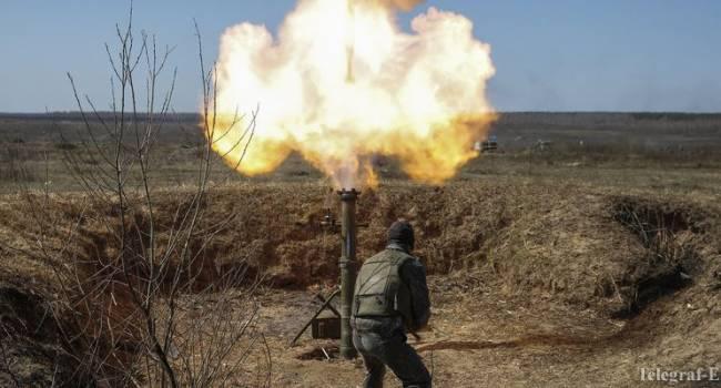 Войска РФ начали применять 120-мм калибр против ВСУ. Вероятно, перемирию скоро конец