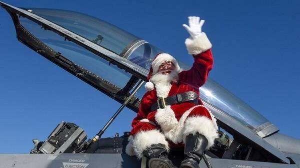 Вакцинированного от COVID-19 Санта-Клауса надумали отправить в открытый космос