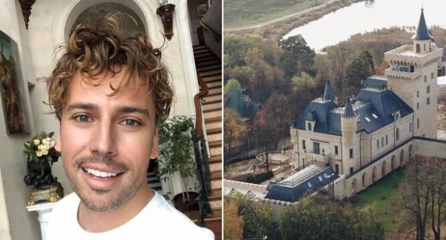 «Будто где-то под Парижем»: Максим Галкин снял видео, в котором показал свой замок и огромный двор возле него