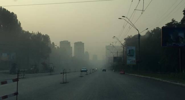 Старайтесь держать окна закрытыми: Киев снова накрыл смог