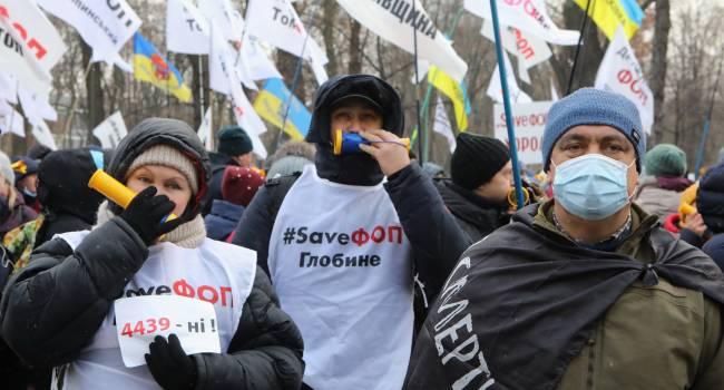 «Давление на власть может усилиться»: СМИ предупредили, что к протестующим предпринимателям могут присоединиться «евробляхеры»