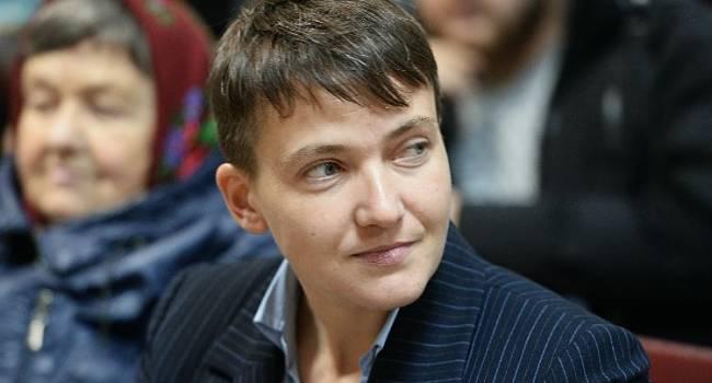 «Хорошие условия, дом и деньги»: Савченко заявила, что знает, как вернуть Донбасс