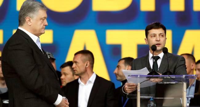 «За полтора года к президенту накопилось не меньше вопросов»: Кузьменко напомнил, как Зеленский зачитывал Порошенко вопросы на стадионе