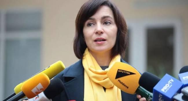 «Сотрясает воздух и решение не найдёт»: в России прокомментировали заявление Майи Санду о российских миротворцах в Приднестровье