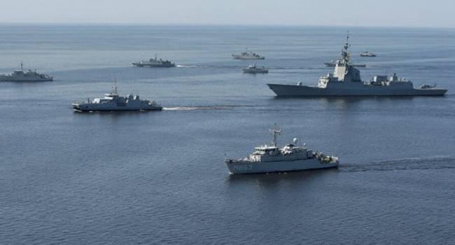 Кремль направил группу боевых кораблей РФ в Сирию