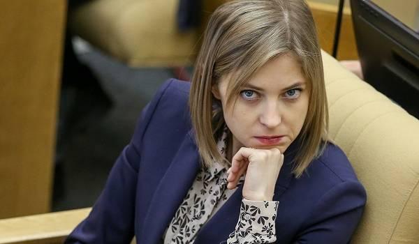 «Вонючая, грязная и ржавая»: Поклонская забила тревогу из-за ситуации с водой в Крыму