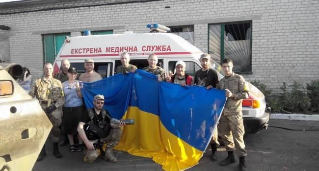 Ветеран АТО: только благодаря волонтерам государство выиграло время для обеспечения армии