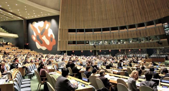 В ООН была поддержана усиленная резолюция Украины по Крыму
