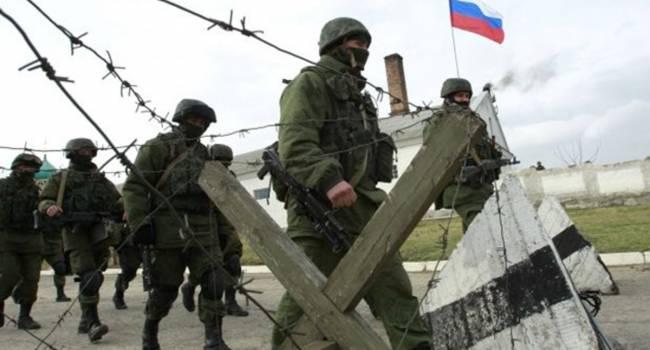 В Крыму военных ВС РФ начали запугивать - росСМИ