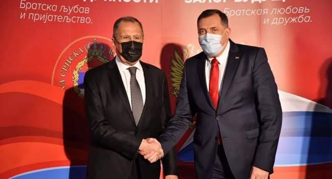 Посольство Украины в Боснии требует вернуть икону, подаренную Лаврову, в Киев