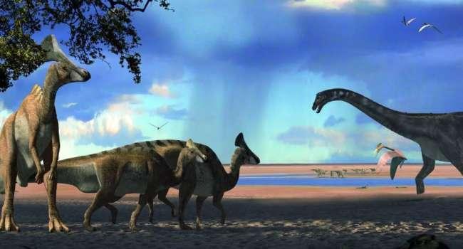 Китайские ученые обнаружили более 200 следов динозавров возрастом 80 миллионов лет