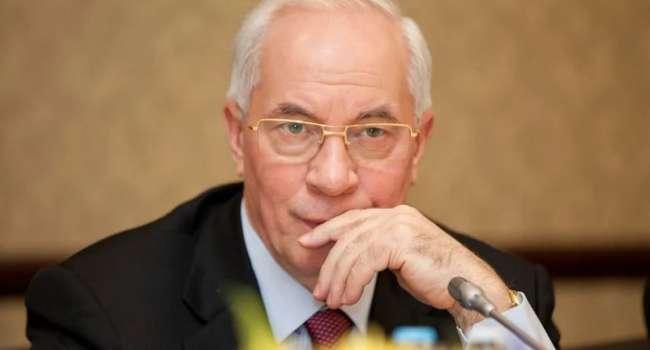 «Не больше 4 гривен за кубометр»: Азаров назвал реальную стоимость газа в Украине