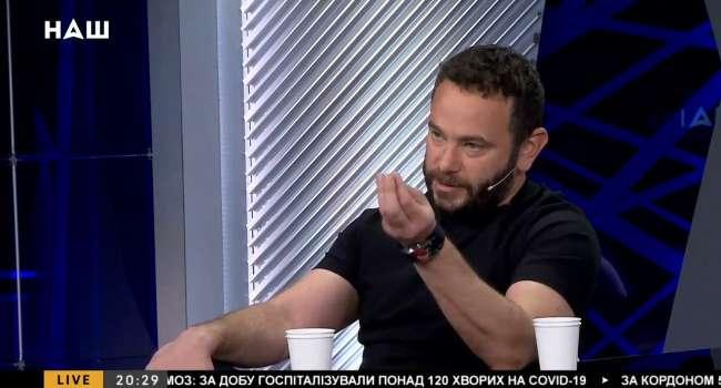Вот что санкции животворящие делают: Дубинский в эфире пророссийского канала «Наш» заговорил на украинском и начал цитировать Шевченко