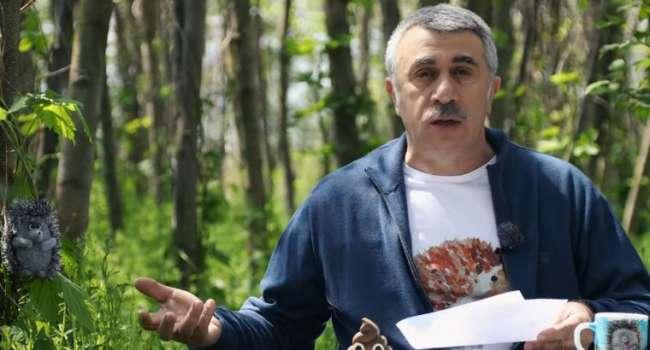 «Прогулка - это не стоять в очереди за пивом»: Комаровский рассказал об опасности карантина из-за коронавируса
