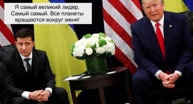 Ветеран АТО: не знаю, какие там у Порошенко и Байдена были отношения, но, судя по фото Зеленского и Трампа сразу видно, кто лидер современности