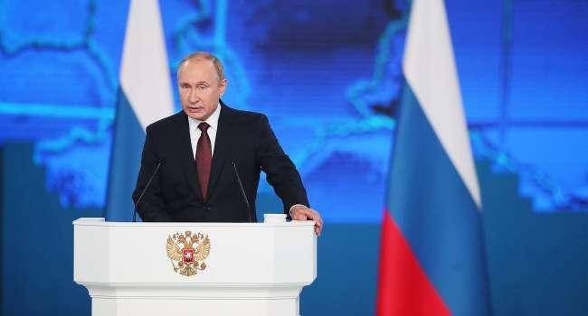 В карту РФ по окончанию президентства Путина уже включены Украина и Беларусь, – Портников