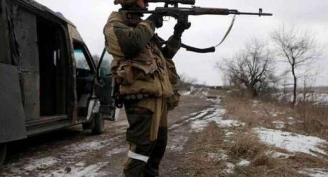 Снайпер РФ в очередной раз атаковал позиции ВСУ на Донбассе