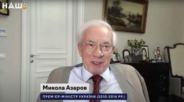 Тимошенко стала премьером вместо Порошенко при президентстве Ющенко: Азаров рассказал, как это было