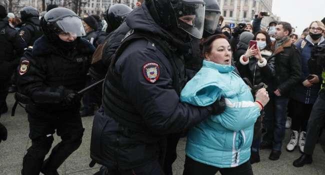 Политолог: если бы то, что сегодня мы увидели в РФ, состоялось в Украине, вышли бы миллионы. До победного конца. Поэтому Россия не Украина