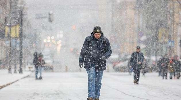 Зима продолжается: новая неделя в Украине начнется со снегопадов