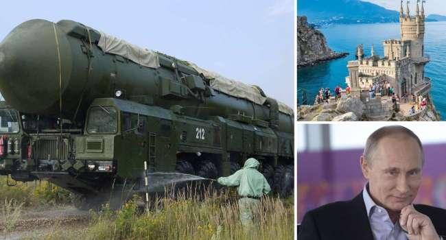 Крым становится ядерной базой России: В СВР рассказали о ситуации на полуострове