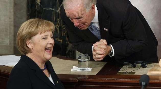 «Как только позволит ситуация с пандемией»: Меркель пригласила Байдена в Германию