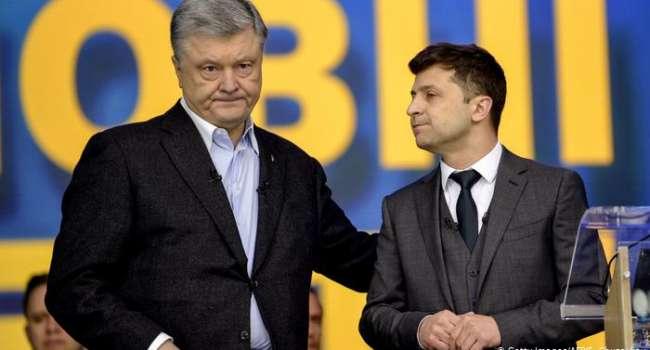 Таран: динамика за последний год показывает, что Зеленский стремительно теряет, а Порошенко – набирает