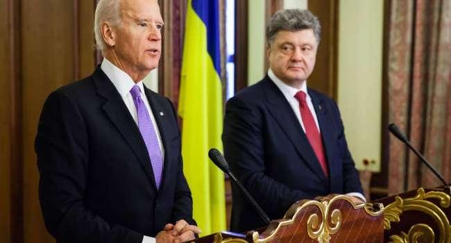 Аналитик: перед телефонным звонком Путину, вместо консультаций с Зеленским, Байден мог провести переговоры с Петром Порошенко