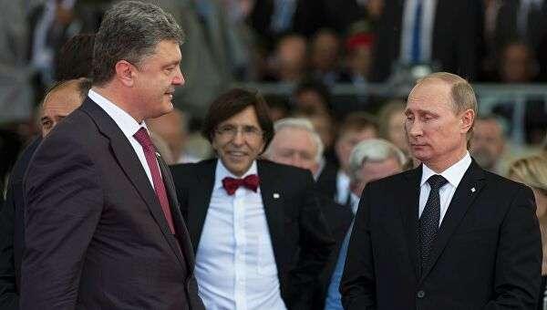 «Что это, как не госизмена?» В сети указали на явное сотрудничество Порошенко с главой России Владимиром Путиным