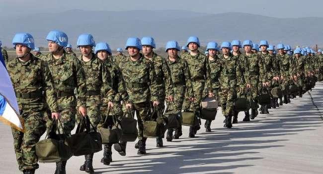 Министр рассказал о вводе миротворцев на Донбасс