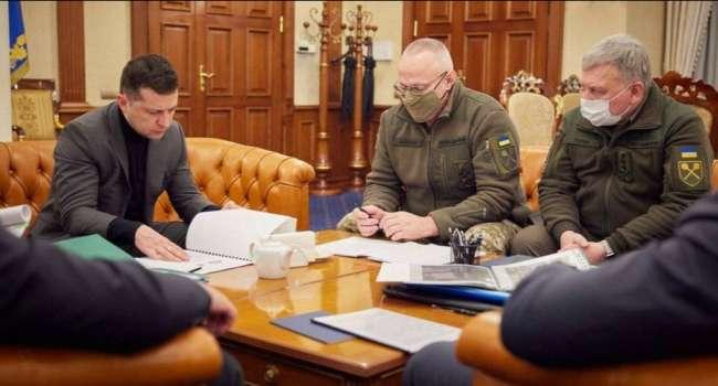 Гибель бойцов ВСУ на Донбассе: Зеленский дал «верхушке» силовых структур 10 дней