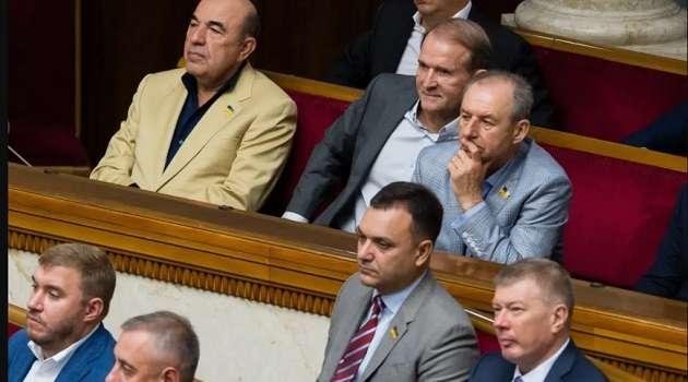 «Украина еще на шаг стала ближе к диктатуре»: в ОПЗЖ жестко ответили на санкции против Медведчука