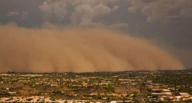 На Европу надвигается песчаная буря: больше всего достанется Испании и Франции