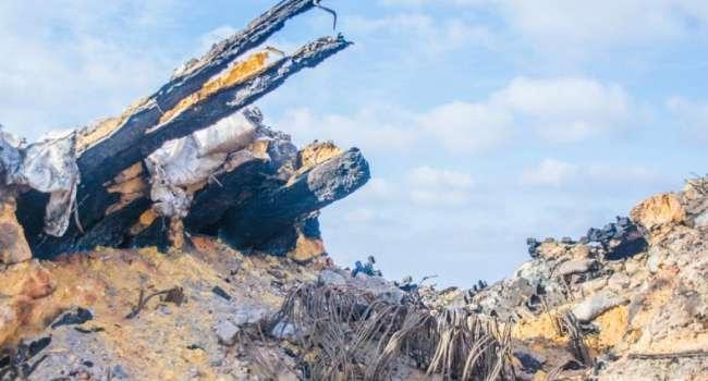 «Сгорели заживо»: Под ДАПом вчера обнаружили сгоревший блиндаж с телами бойцов АТО