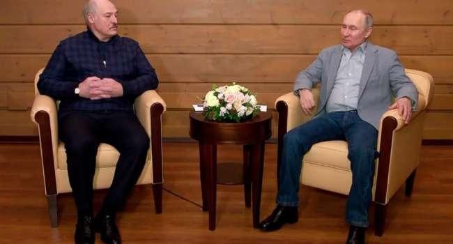 «Они с трудом друг друга переносят»: политолог прокомментировал последнюю встречу Путина и Лукашенко