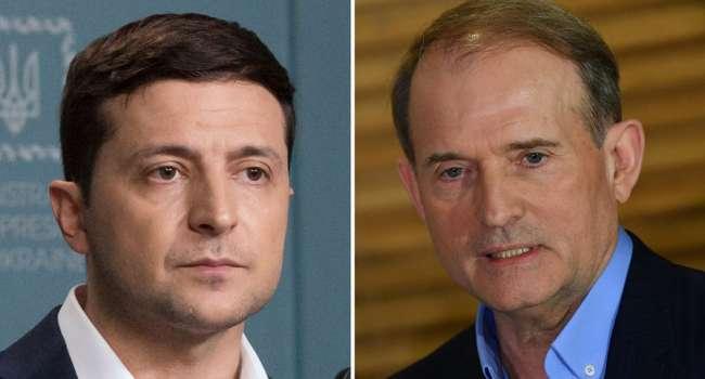 Блогер: Зеленский подписал указ о санкциях СНБО на следующий день, позволив и Медведчуку, и Марченко вывести средства
