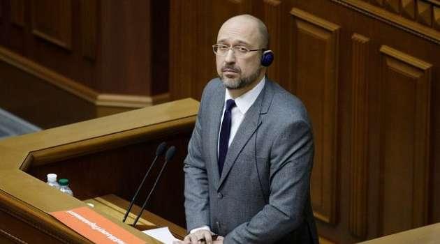 Шмыгаль дал поручение подготовить санкции против режима Лукашенко