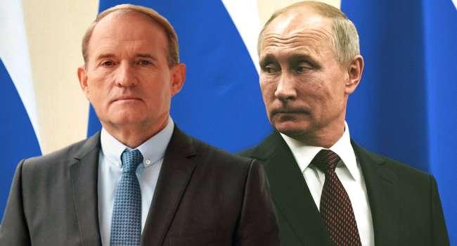 Реакция Путина на санкции против Медведчука Украине не страшна – Данилов