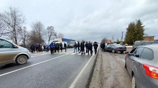 Предприниматели Прикарпатья вышли на протесты из-за усиления карантина