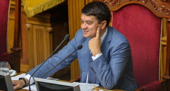 Береза: в конкурсе на главного нарушителя Конституции Украины в этом году появился новый лидер – Дмитрий Разумков