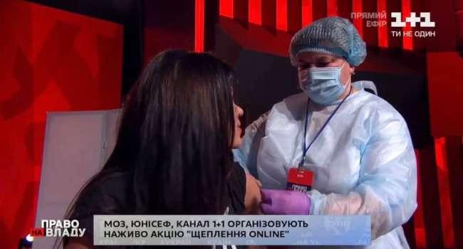 Политолог: в эфире ток-шоу «Право на власть» власти устроили цирк с вакцинированием