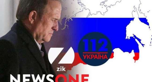 Палий: отключение каналов Медведчука наносит российской пропаганде мощный, практически сокрушительный удар
