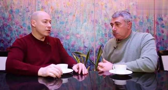 «Откуда у тебя столько понтов?»:Комаровский набросился на Гордона из-за заявления о развитой Украине