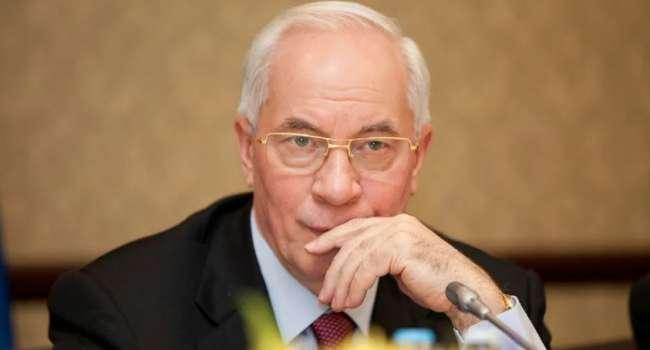 «При Зеленском и Порошенко планка опущена очень низко»: Азаров заявил, что президентом Украины может стать кто угодно