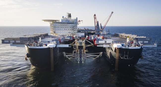 Интрига вокруг «Северного потока-2» нарастает: российское судно «Академик Черский» направилось к водам Дании, чтобы завершить укладку труб