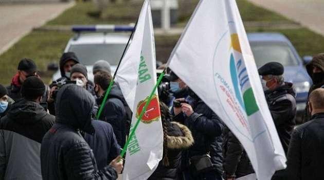 Предприниматели Одессы вышли на протест против карантина